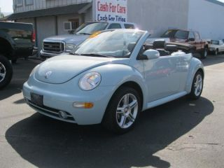 2005 Volkswagen Beetle Gls Convertible 2 Door 1 8l Photo