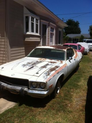 Plymouth Road Runner 1974 318 Cu.  In. photo