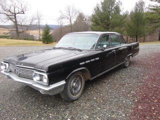 1963 Buick Electra Car Black Classic Barn Find photo