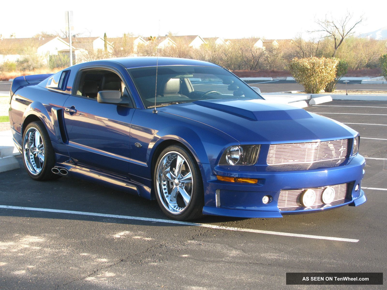 2005 Ford Mustang Gt 4 6l Charged Eleanor