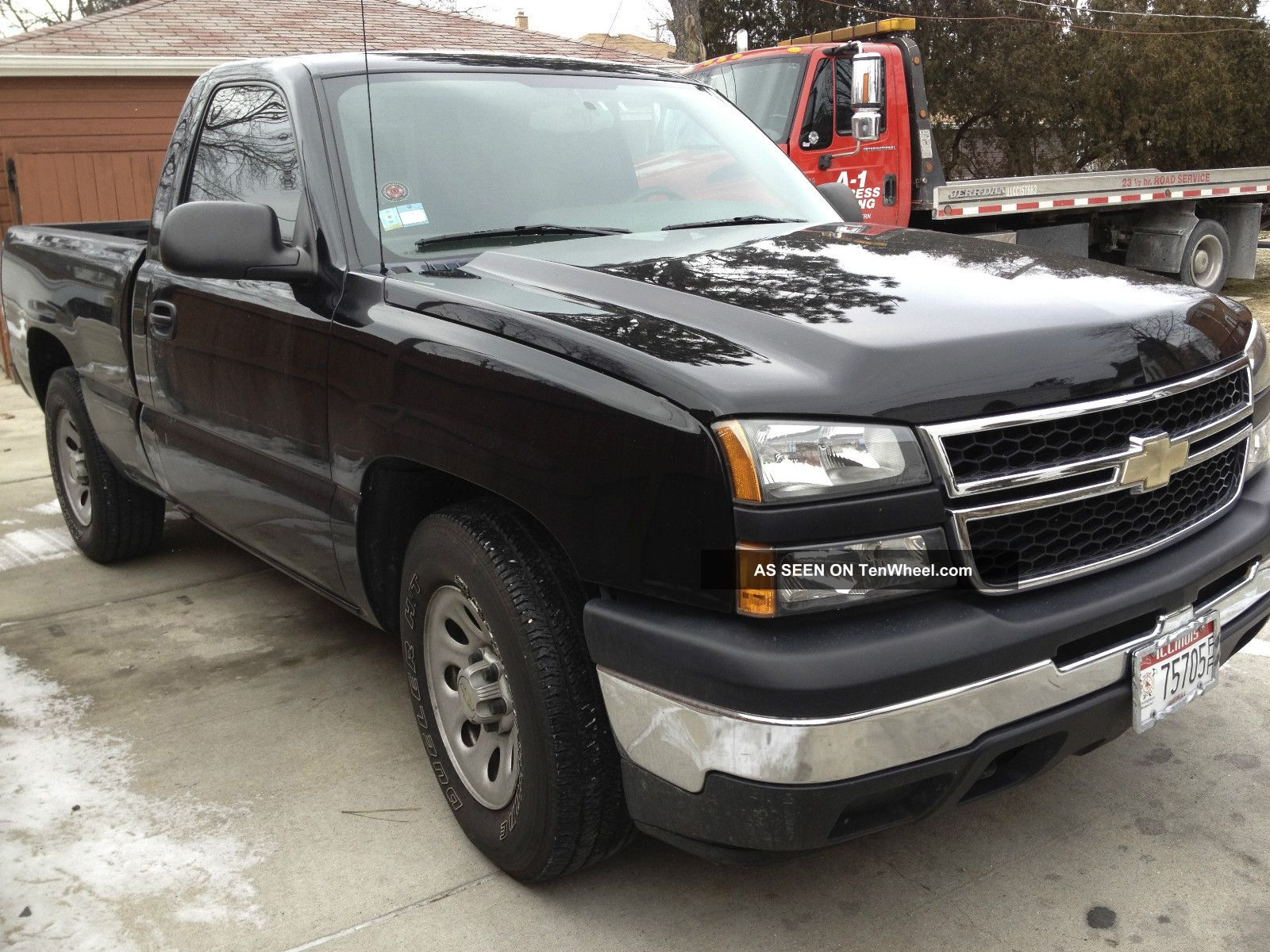 2006 chevrolet silverado 1500 ls standard cab pickup 2 door 4 3l. Black Bedroom Furniture Sets. Home Design Ideas