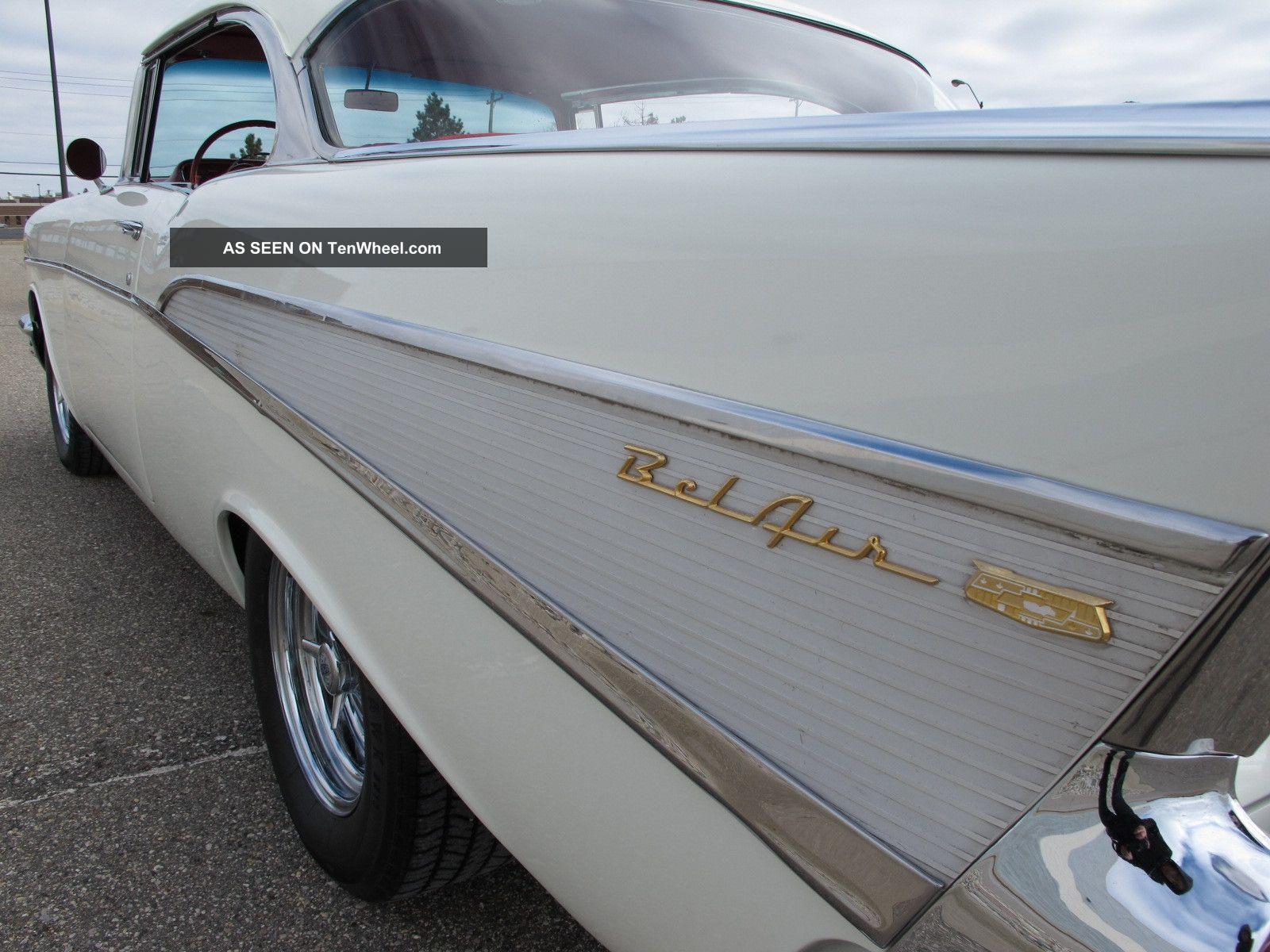 1957 Bel Air Hardtop Excellent Turn Key Driver Paint Color Chevy Convertible Colors