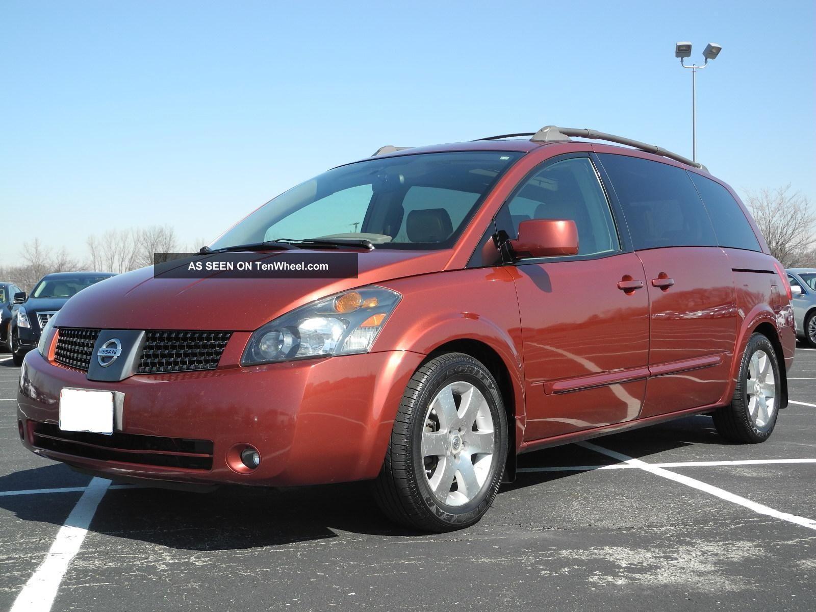 2004 Nissan Quest Se Mini Passenger Van 4 Door 3 5l