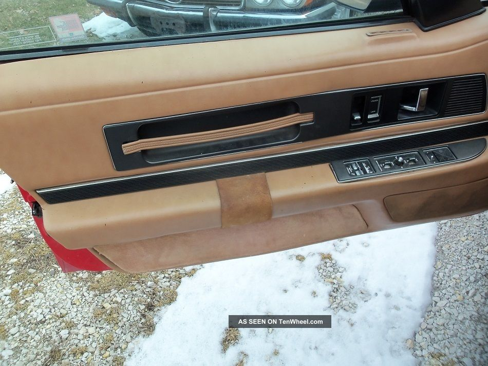 1990 Red And Tan Reatta Convertible 1 Of 2100 Reatta photo