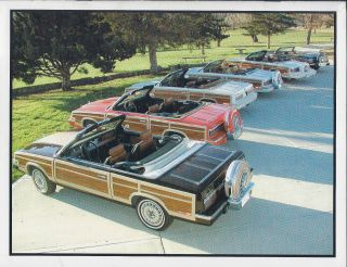 1983 Chrysler Town & Country Convertible photo
