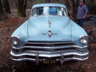 1953 Chrysler Custom 4door Imperial Project photo