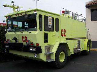 1990 Oshkosh T - 1500 Airport Arff Fire Truck Foam Tanker,  Emergency Responce photo
