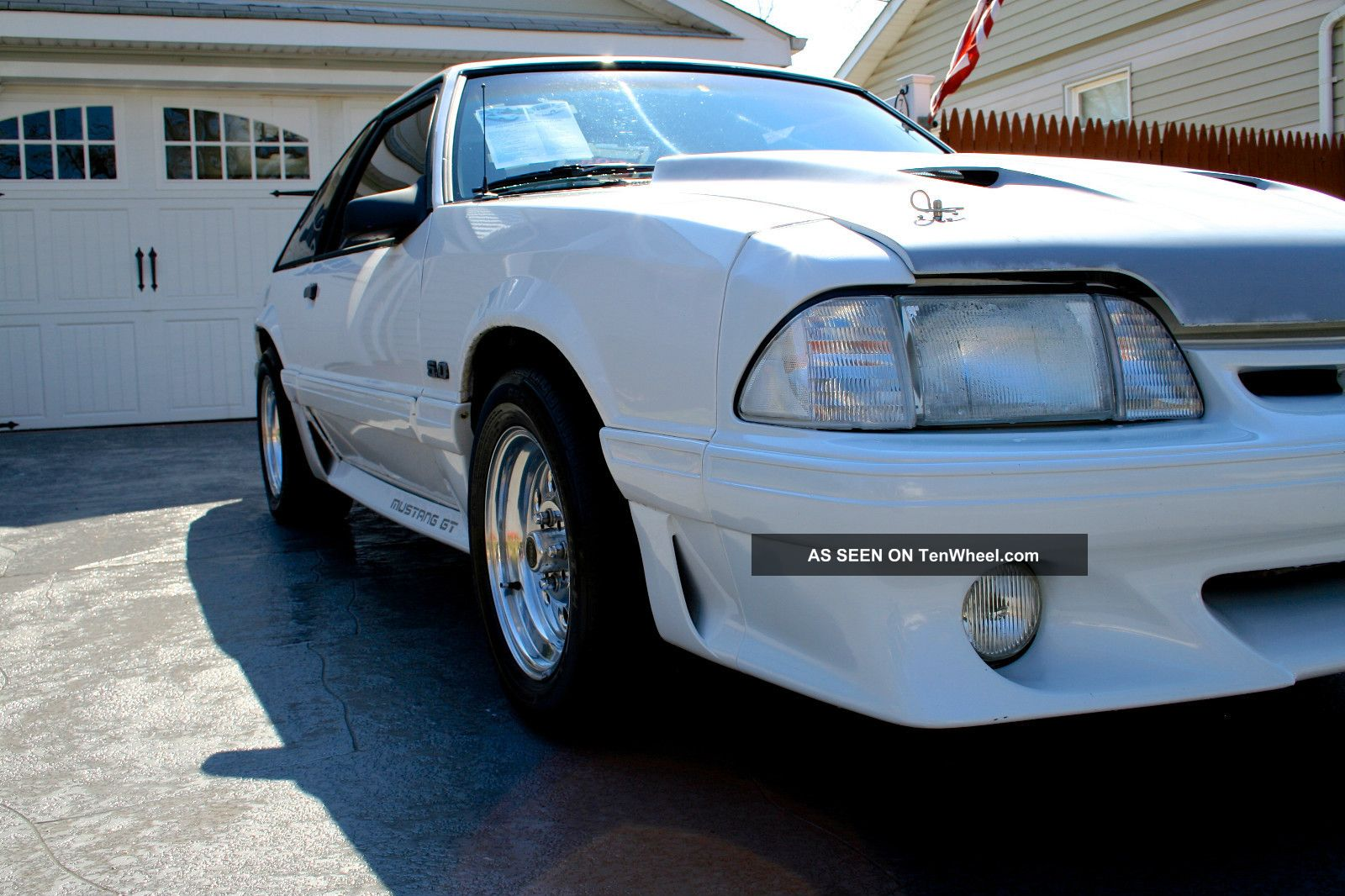 Supercharged 1989 Ford Mustang Gt 5.  0 Mustang photo