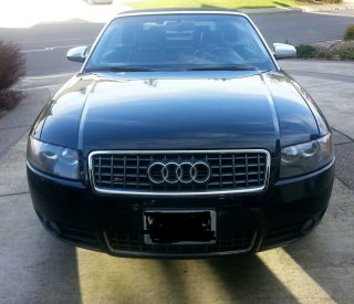 2006 Audi S4 Quattro Convertible V8 Htd.  69k photo