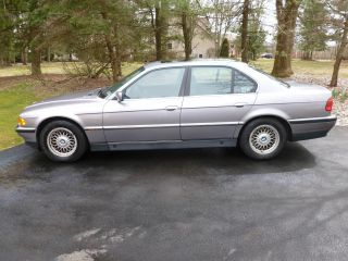 1997 Bmw 740i Base Sedan 4 - Door 4.  4l - Before Bidding photo