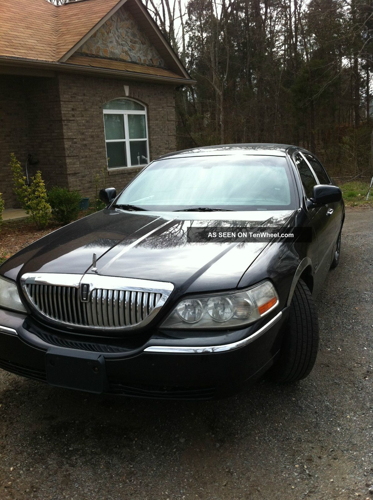 2007 lincoln town car signature limited sedan 4 door 4 6l. Black Bedroom Furniture Sets. Home Design Ideas
