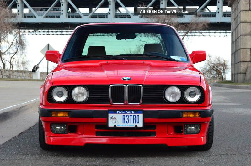 1990 Bmw E30 325is 325i Coupe 5 Speed Manual 3-Series photo