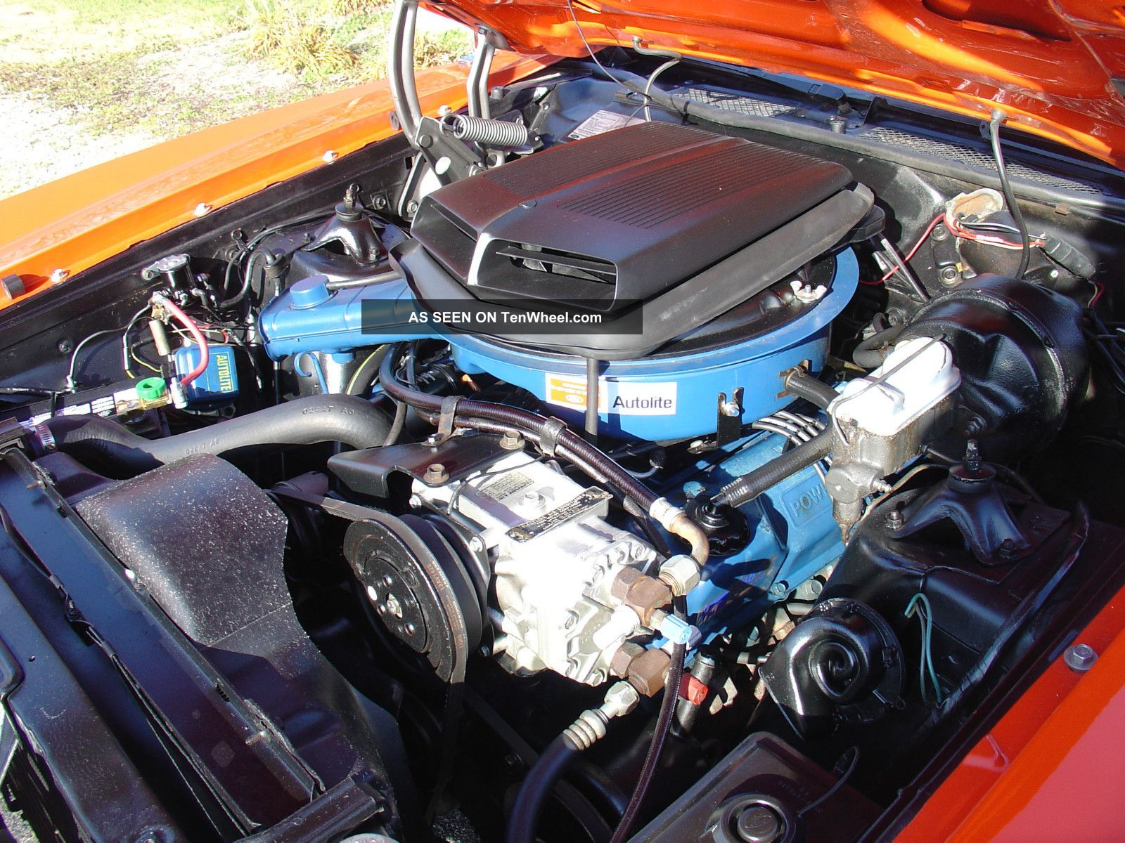 1970 Ford Torino Gt Convertible Shaker Matching