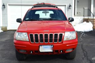 2001 Jeep Grand Cherokee Limited Red photo