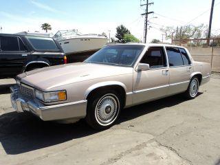 1990 Cadillac Deville, photo
