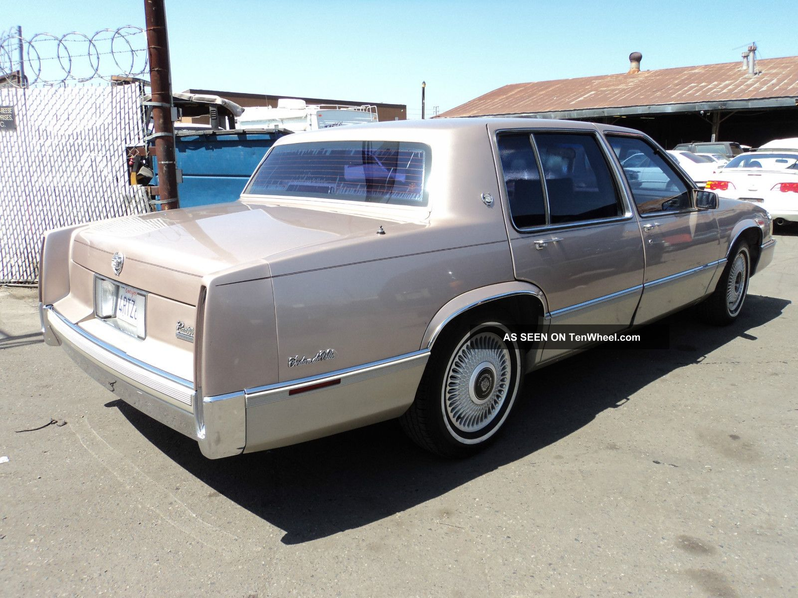1990 cadillac deville. Cars Review. Best American Auto & Cars Review