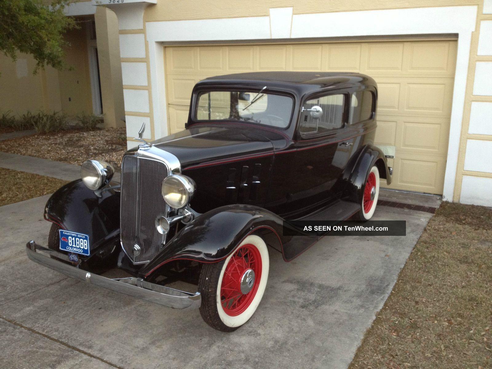 1933 Chevrolet 2 Dr Master Eagle