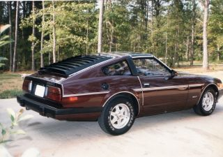 1983 Datsun 280z,  T - Tops,  Burgandy / Red,  2door, photo