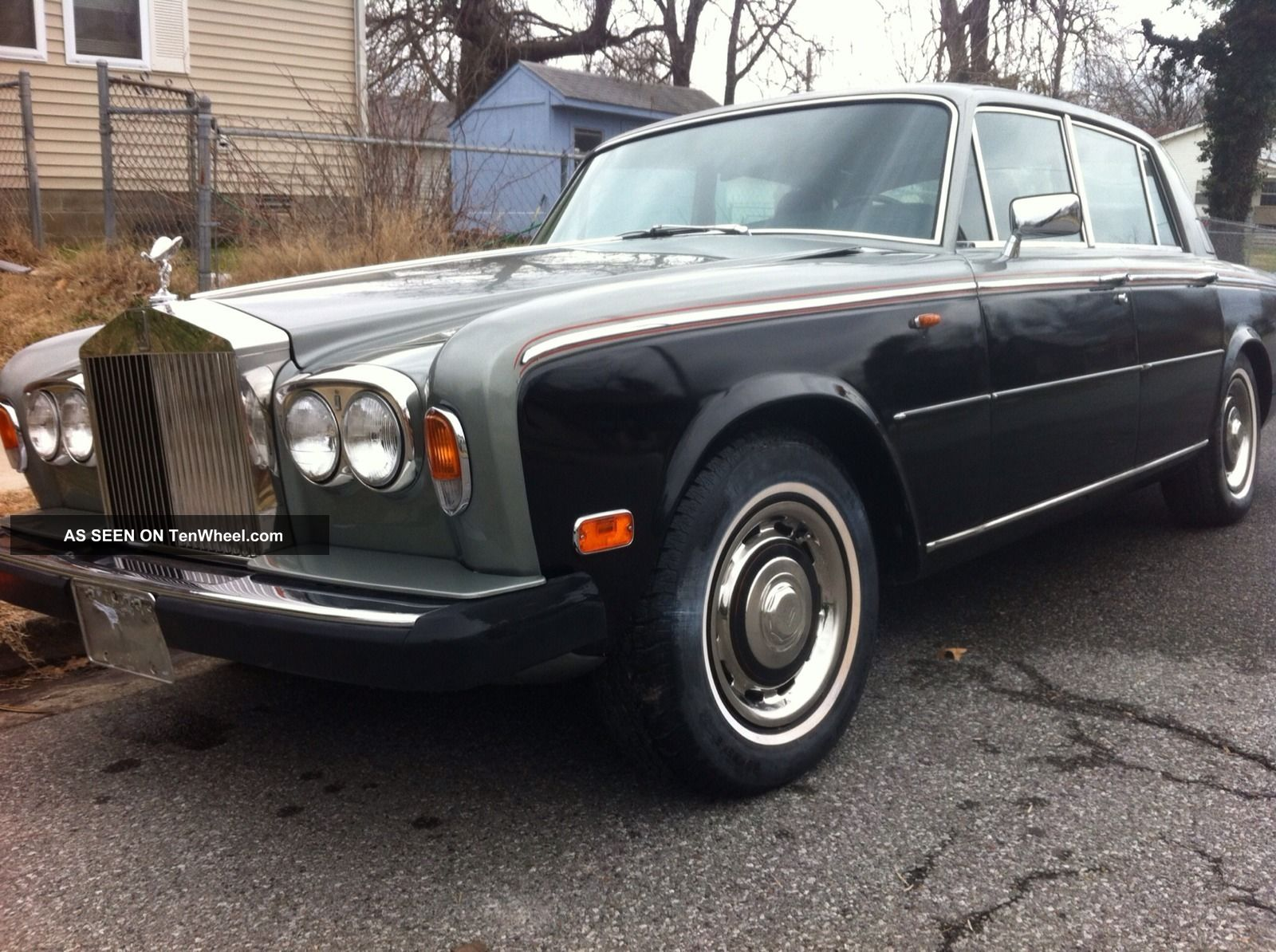 1978 rolls royce silver shadow ii base sedan 4 door 6 7l. Black Bedroom Furniture Sets. Home Design Ideas
