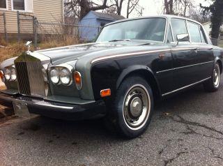 1978 Rolls Royce Silver Shadow Ii Base Sedan 4 - Door 6.  7l photo