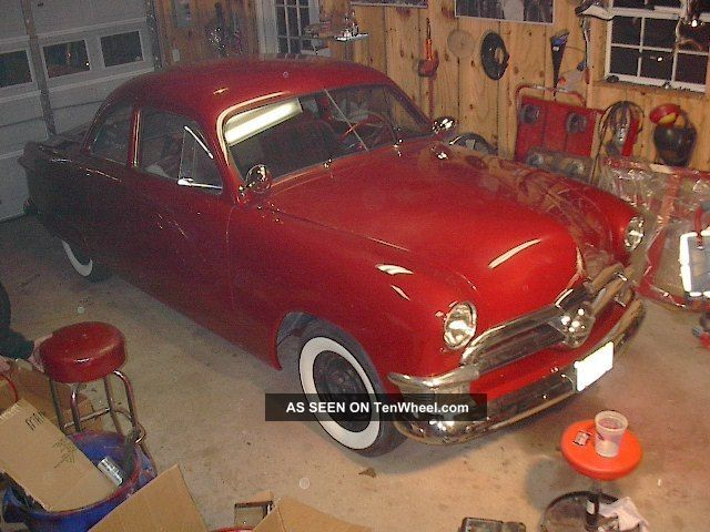 1950 Ford Business Coupe Mild Custom Insane Other photo