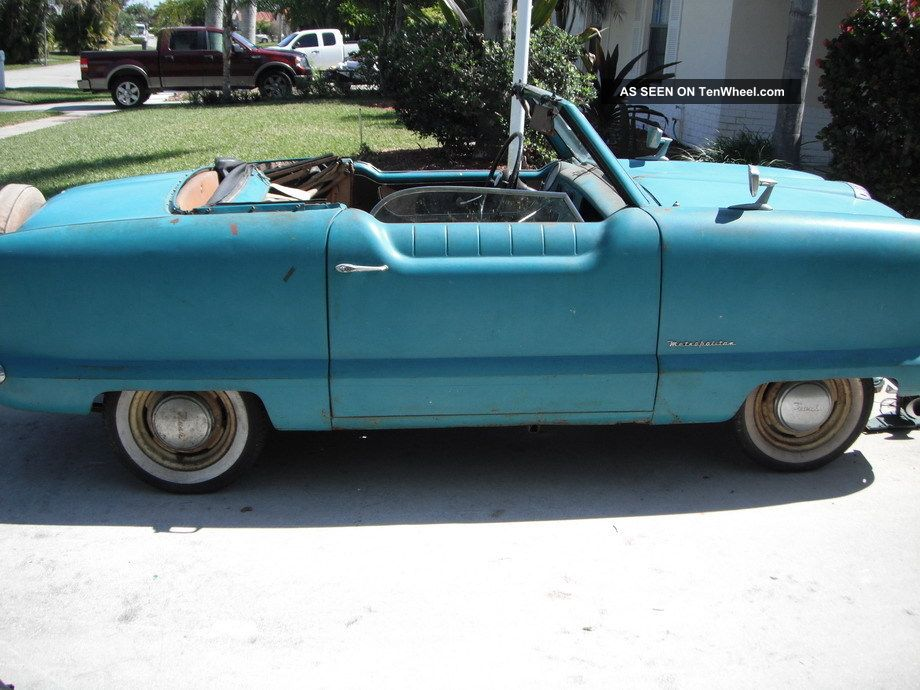 1954 Nash Metropolitan Convertible Orig Paint Barn Find Straight Project Nash photo