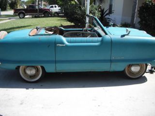 1954 Nash Metropolitan Convertible Orig Paint Barn Find Straight Project photo