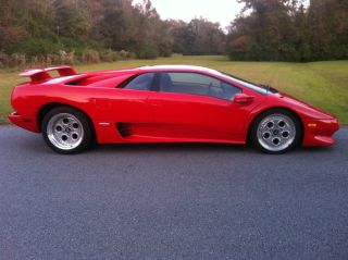 1994 Lamborghini Diablo Vt Coupe Red On Tan V - 12 5 Speed photo