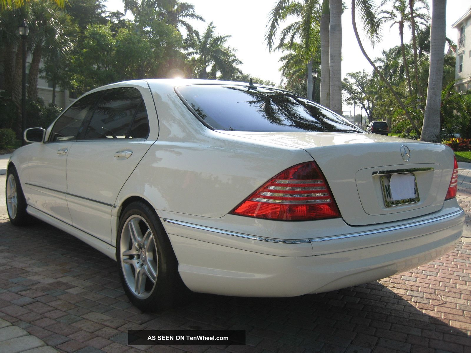 2002 mercedes benz s430 sedan amg sport package navi for Mercedes benz s 430
