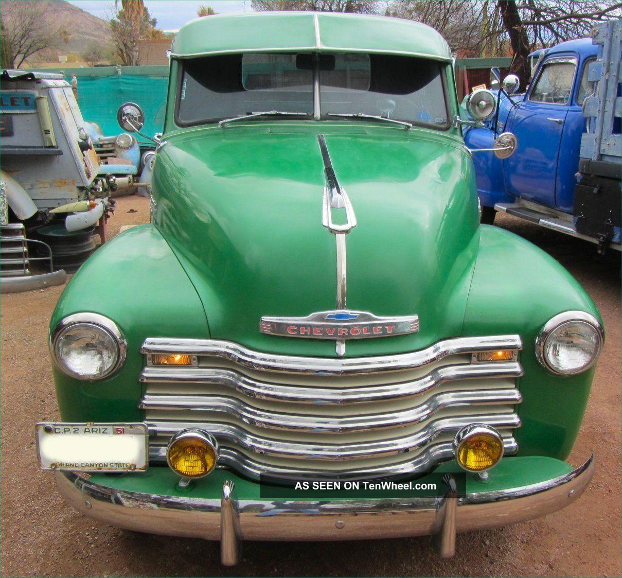 1951 Chevrolet Pickup 1 2 Ton Step Side Style Older Restoration Gm 51 Chevy Truck