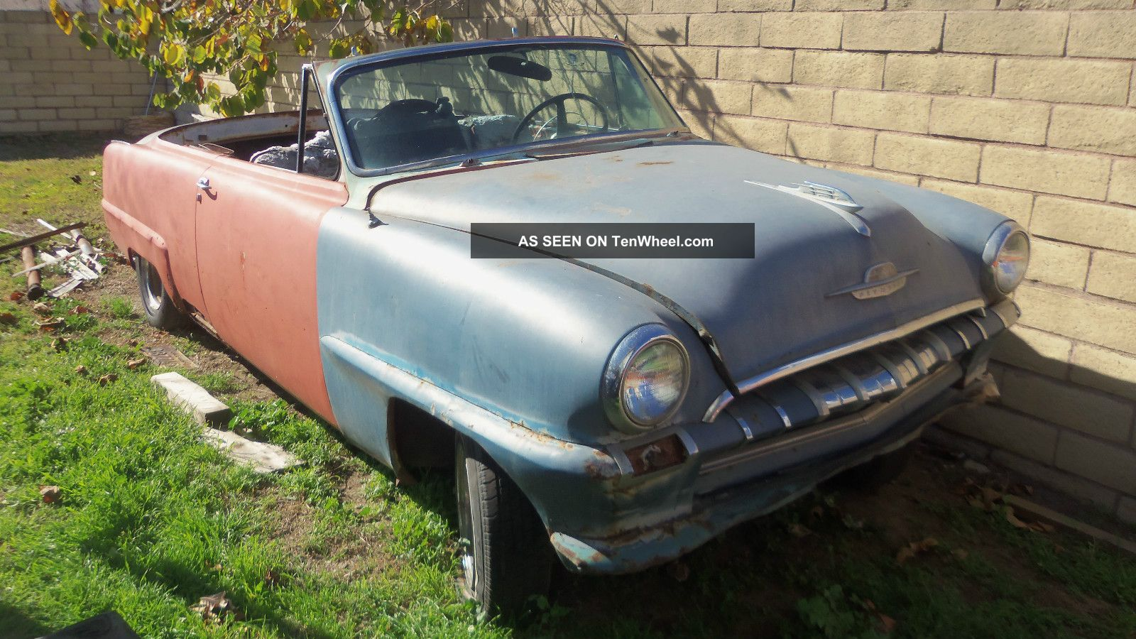 1953 Plymouth Cranbrook Convertible Very Complete Some Normal Rust Needs Resto Other photo