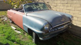 1953 Plymouth Cranbrook Convertible Very Complete Some Normal Rust Needs Resto photo