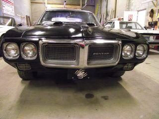 Black 1969 Firebird 400 Auto Trans 355 Rear End. photo