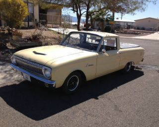 1963 Ford Falcon Ranchero Base Model Inline 170 Three On The Tree photo