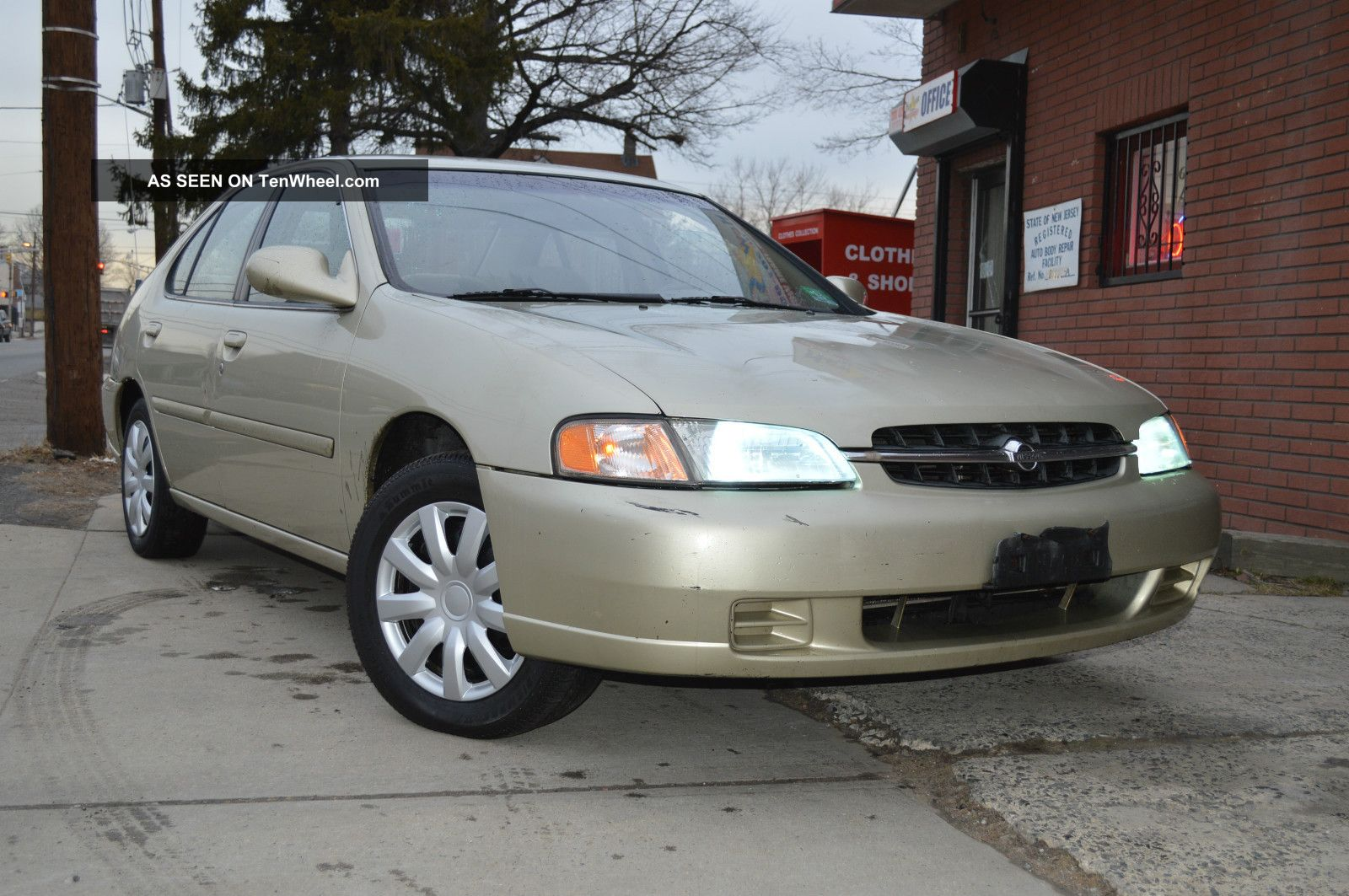 1998 nissan altima gxe automatic tranny