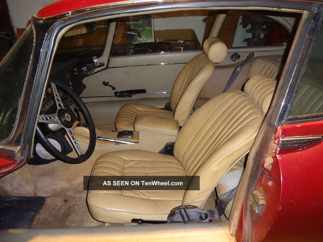 Camaro Fixer Upper: 1969 Jaguar Xke 2+2 Coupe