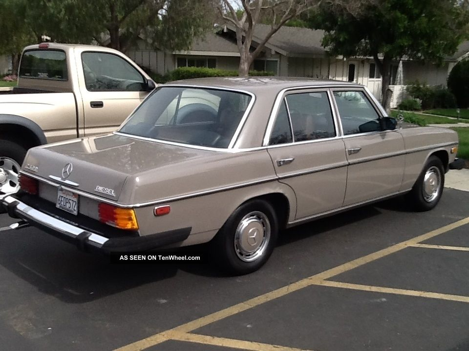 1974 mercedes benz 240d base 2 4l for Mercedes benz 240 d