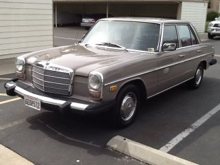 1974 Mercedes - Benz 240d Base 2.  4l photo