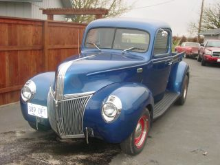 1941 Ford Pickup Hot Rod 350 Chevy With Tri - Power photo