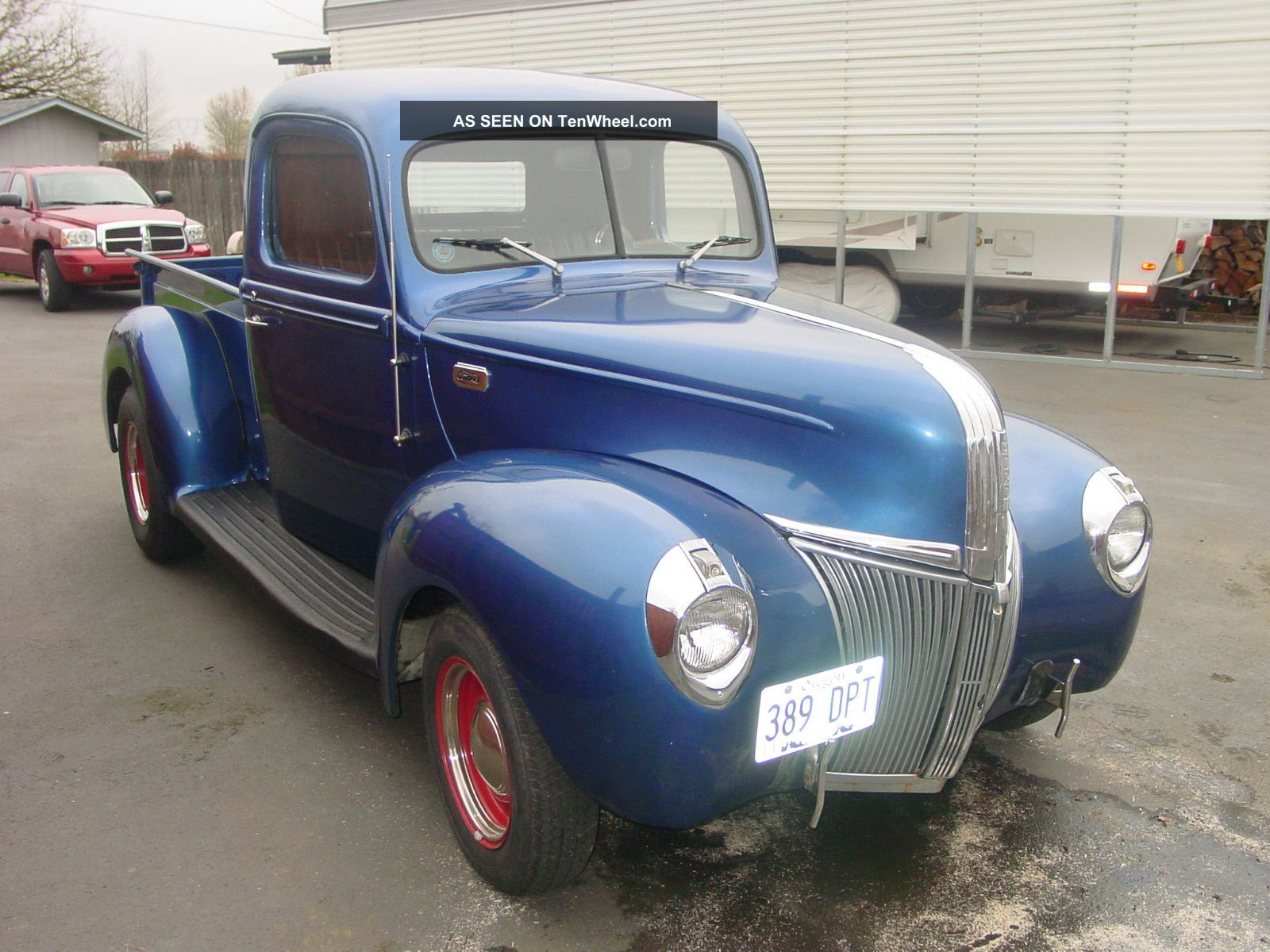 1941 Ford Pickup Hot Rod 350 Chevy With Tri Power Truck Other Pickups Photo 6