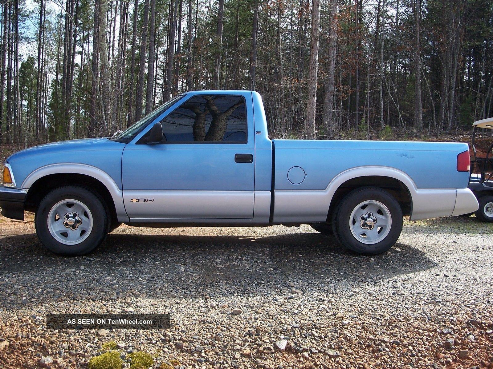 1997 chevrolet s10 truck ls 2 2 4 cylinder automatic. Black Bedroom Furniture Sets. Home Design Ideas