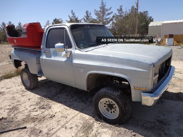 Chevrolet Or Gmc Short Bed Pickup 4 4 Autos Post
