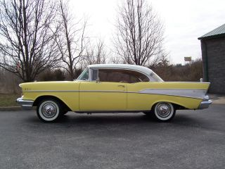 1957 Chevy Bel Air 2 - Dr.  Hardtop photo