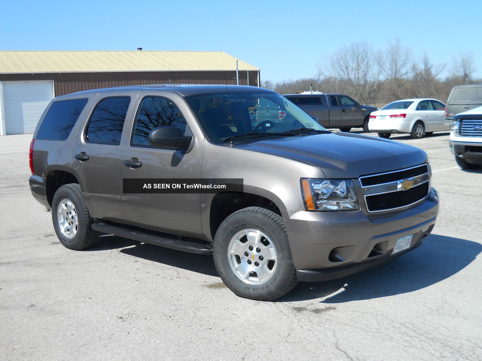 2013 Chevy Tahoe Ls Special Service Vehicle