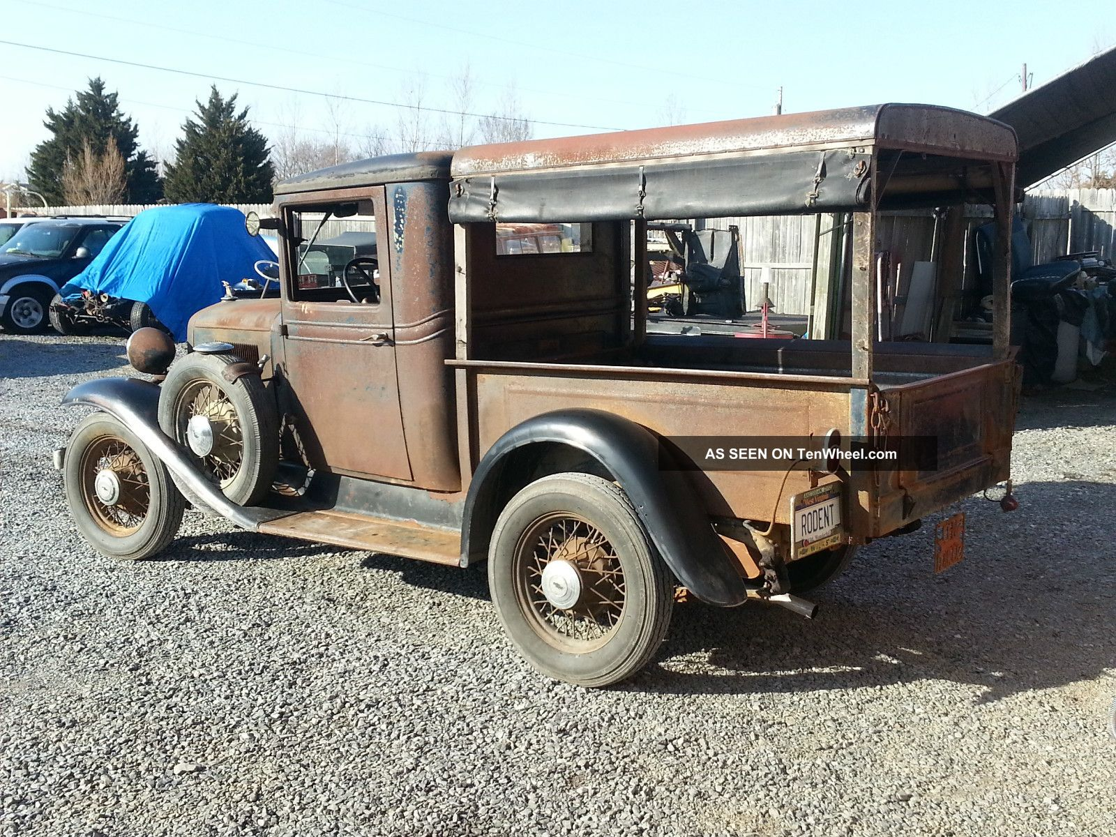 1933 Chevrolet Truck Canopy Express Chevy Rare Jalopy Pickup Hot Rat Rod 32 31 Other Pickups ... & 1933 Chevrolet Truck Canopy Express Chevy Rare Jalopy Pickup Hot ...