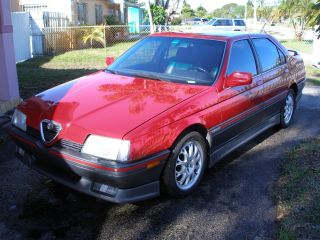 1991 Alfa Romeo 164s photo