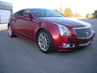 2012 Cadillac Cts Coupe 2 Door Premium Collection Touring Package Recaro Seats photo