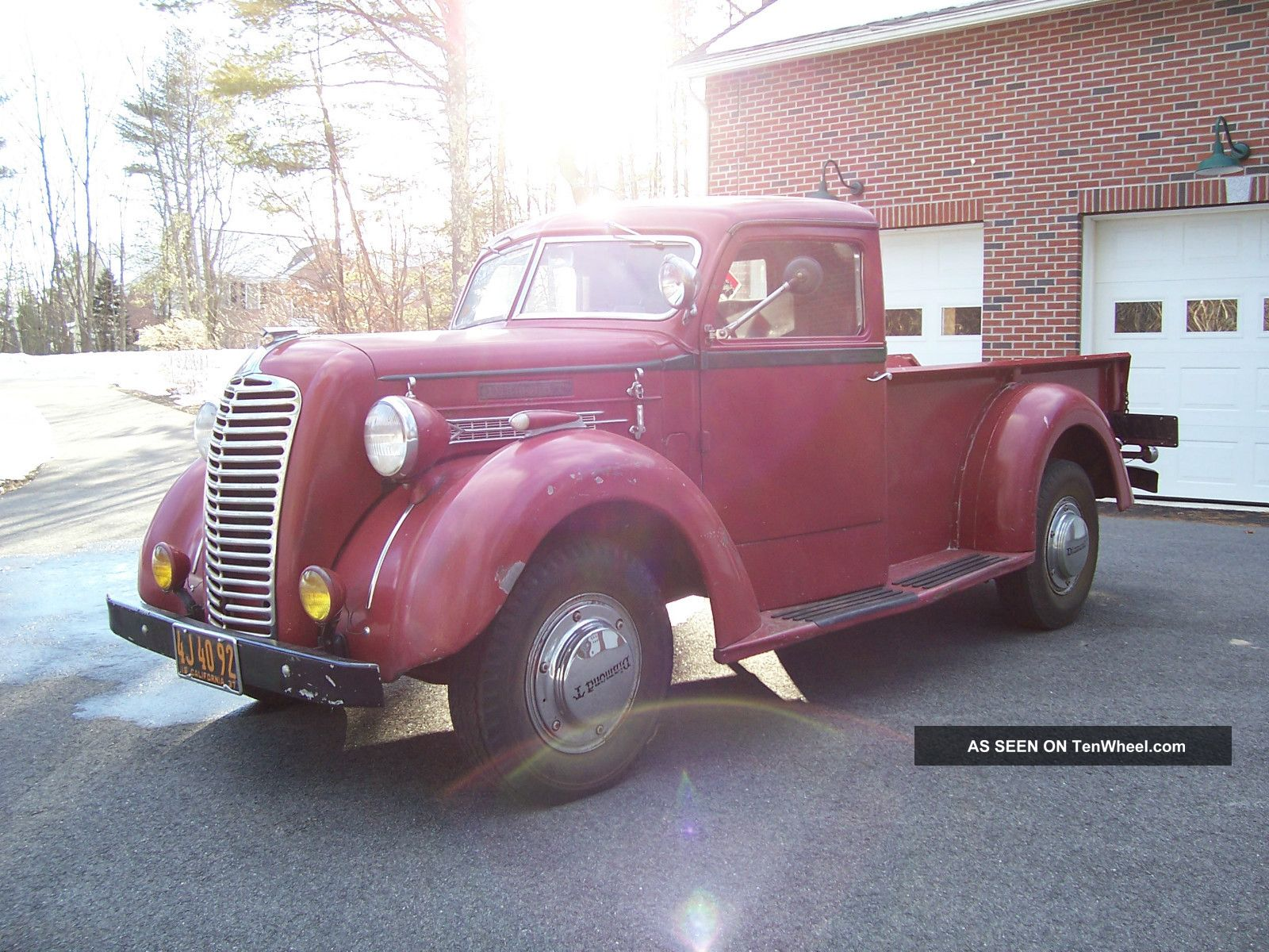 1937 Diamond T 80 D Deluxe P / U Other Makes photo