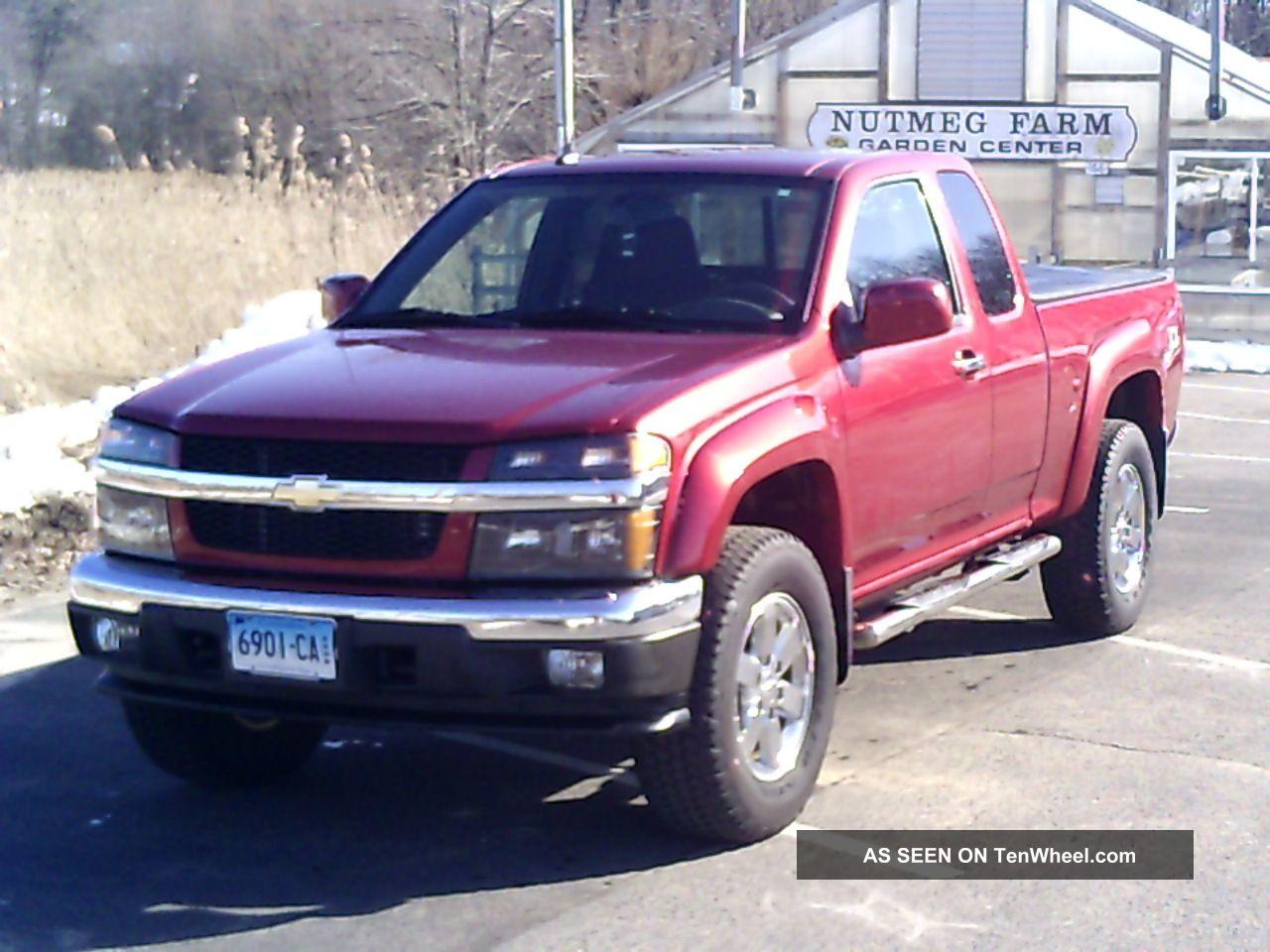 2010 Chevrolet Colorado Lt Extended Cab Pickup 4 - Door 3.  7l Colorado photo