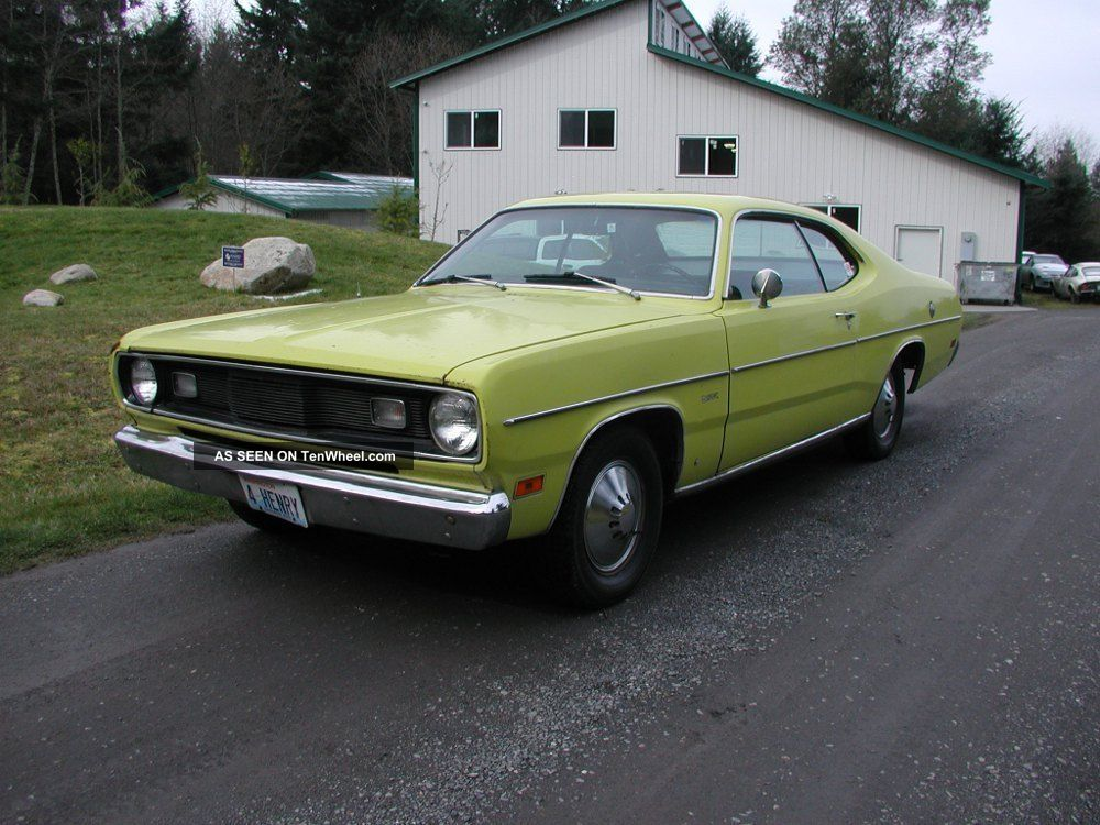 1971 Plymouth Duster Slant 6 Runs And Drives Great Estate Car Barn Find Duster photo